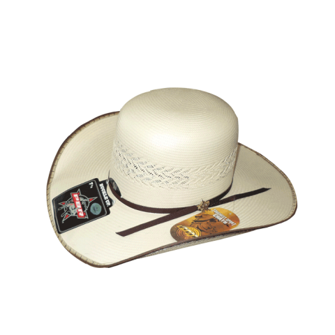 SOMBRERO TOMBSTONE OPEN CROWN LIMITED RODEO PBR CON RIBETE